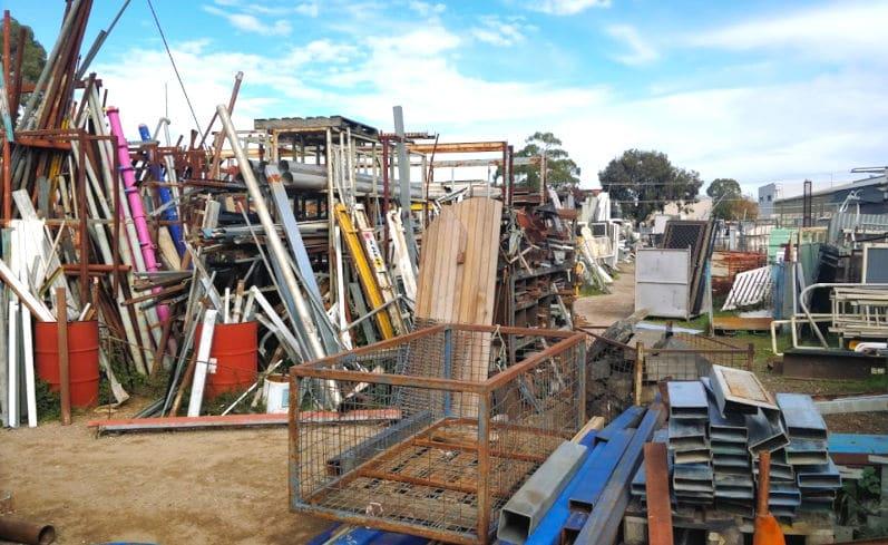 salvage yard in Bendigo